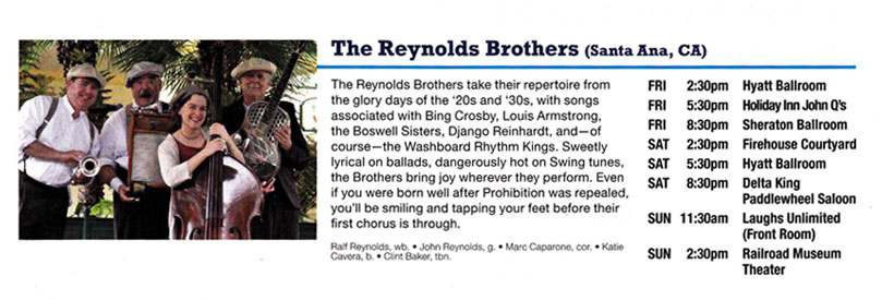12 The Reynolds Brothers